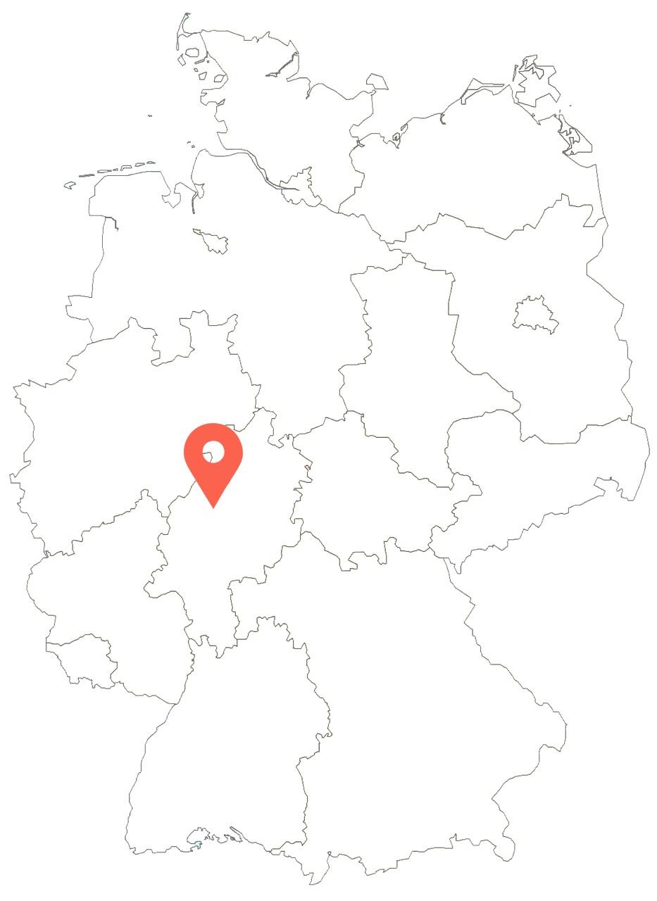 germany-giessen-marker-map